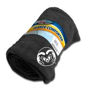 Dog Zone NCAA Pet Fleece Comforter-Black-Colorado State University at Kmart.com