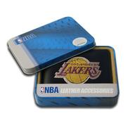 Rico Los Angeles Lakers Men's Black Leather Bi-fold Wallet at Kmart.com