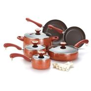 Paula Deen 10pc Cookware Set with Bonus Tools Coral at Kmart.com