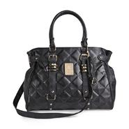 Kardashian Kollection Quilted Black Satchel Handbag at Sears.com