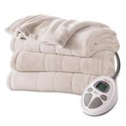 Sunbeam Microplush Heated Blanket, Full at Sears.com