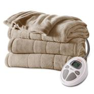 Sunbeam Microplush Heated Blanket, Twin at Sears.com