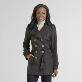 Metaphor Women's Double-Breasted Trench Coat at Sears.com