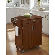 Home Styles Cuisine Cart Warm Oak Finish with Oak Top at Kmart.com