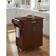 Home Styles Cuisine Cart Cherry Finish with Cherry Top at Kmart.com