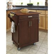 Home Styles Cuisine Cart Cherry Finish with Oak Top at Kmart.com