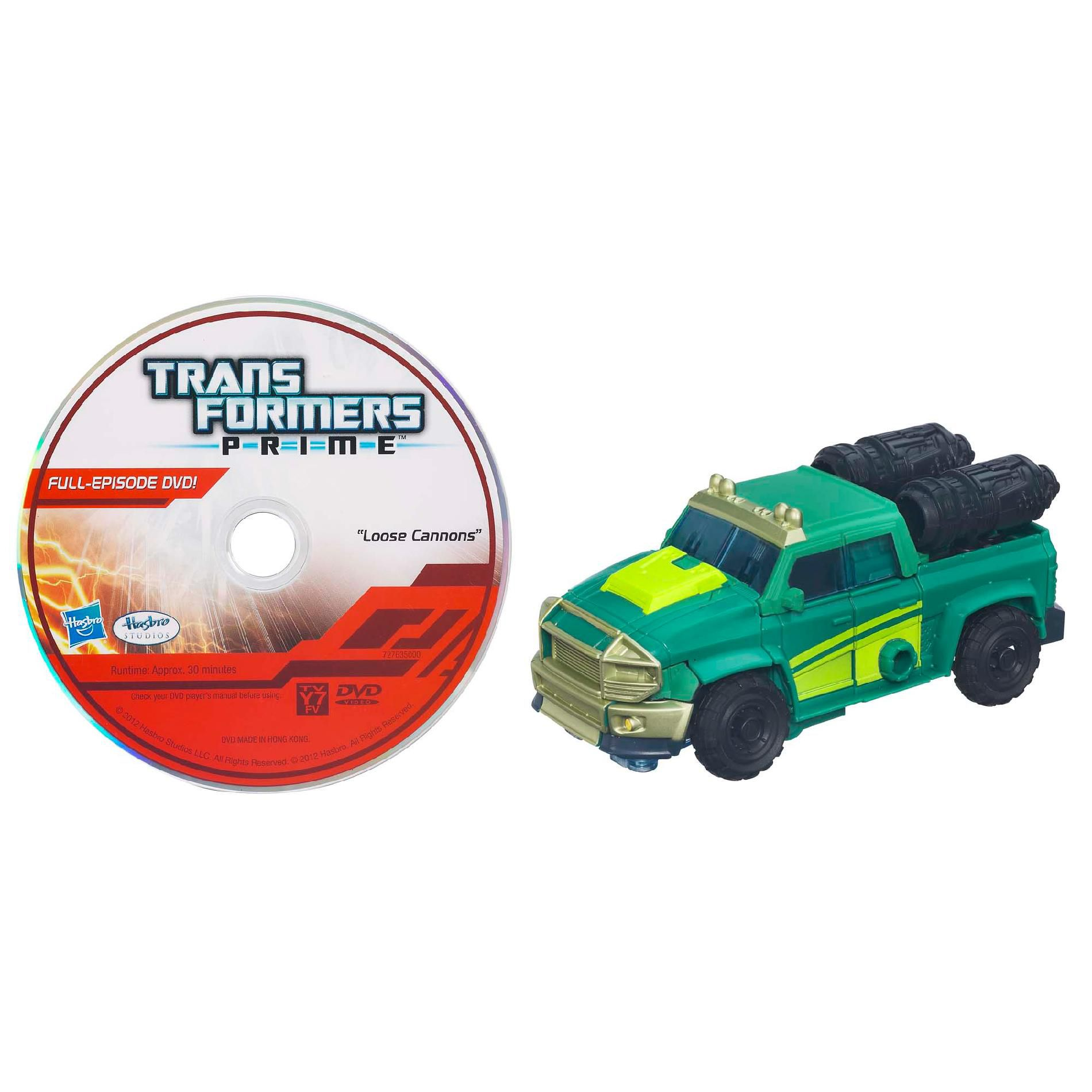 TRANSFORMERS PRIME ROBOTS IN DISGUISE Deluxe