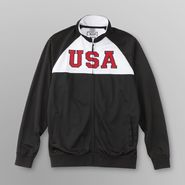 EURO SOCCER Young Men's Track Jacket - USA at Sears.com