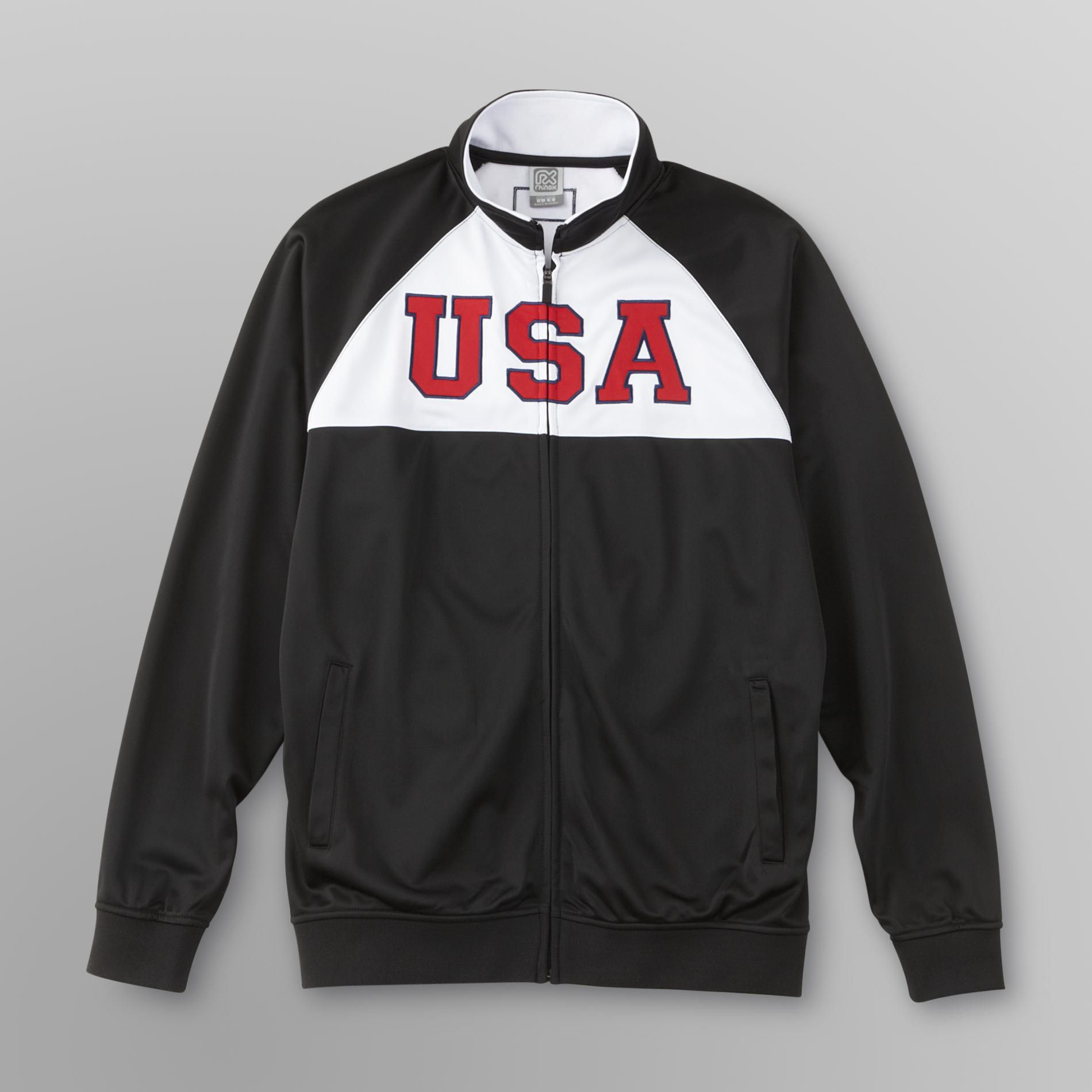 EURO SOCCER Young Men's Track Jacket - USA at Kmart.com