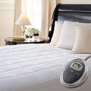Sunbeam Premium Quilted Heated Mattress Pad, Full at Sears.com
