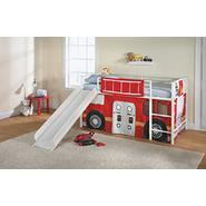 Essential Home Slumber N Slide Curtain- Fire Truck at Kmart.com