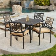 RST Outdoor Delano™ 5-Piece Cast Aluminum Café Set at Kmart.com