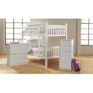 Essential Home White Bunk Bed and Total Room Solution Furniture Bundle at Kmart.com