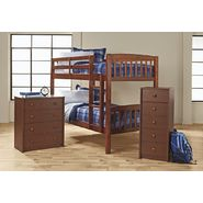 Essential Home Bunk Bed Bedroom Collection - Walnut at Kmart.com