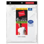 Hanes Men's T-Shirts 6 Pk ComfortSoft Crewneck Tagless at Kmart.com