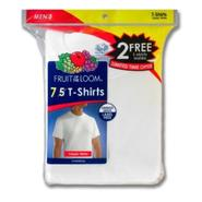 Fruit of the Loom Men's T-Shirts 7pk Short Sleeve Crew Neck at Kmart.com