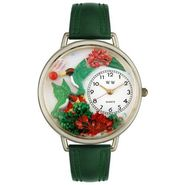 Whimsical Watches Hummingbirds Pink Leather And Silvertone Watch #U1210003 at Sears.com