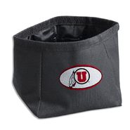 Dog Zone NCAA Pet Travel Bowl-Round-Large-U. of Utah at Kmart.com