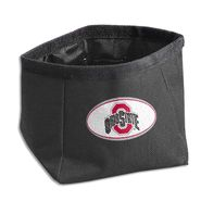 Dog Zone NCAA Pet Travel Bowl-Round-Large-Scarlet Red-Ohio State U. at Kmart.com