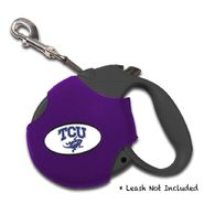 Dog Zone NCAA Retractable Leash Cover-Neoprene-XS-Texas Christian University at Kmart.com