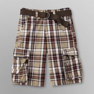 Canyon River Blues Boy's Belted Shorts - Plaid at Sears.com