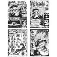 Tim Holtz Cling Rubber Stamp Set-Holiday Collections at Kmart.com