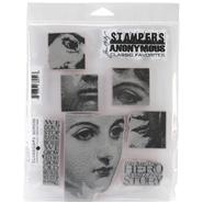 Tim Holtz Cling Rubber Stamp Set-Classics #5 at Kmart.com