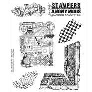 Tim Holtz Cling Rubber Stamp Set-Classics #7 at Kmart.com