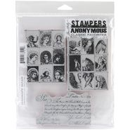 Tim Holtz Cling Rubber Stamp Set-Classics #9 at Kmart.com