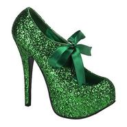 Bordello Women's Teeze 10G - Green Glitter at Sears.com