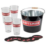 Craftsman Bucket, Coasters & Glasses Gift Set at Craftsman.com