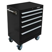 "Viper Tool Storage 26"" 5 Drawer 18G Steel Rolling Cabinet, Black at Sears.com"