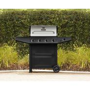 BBQ Pro 4 Burner Gas Grill with Stainless Steel Lid at Kmart.com