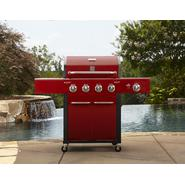 Kenmore 4-Burner Gas Grill - Red at Sears.com