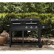 Kenmore 3 Burner Charcoal/Gas Combo Grill at Kenmore.com
