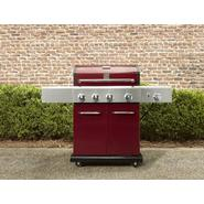 Kenmore Red 4 Burner Gas Grill w/ Searing Burner & Side Burner, Cover, & Accessories Bundle at Sears.com