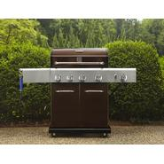 Kenmore Mocha 4 Burner Gas Grill w/ Searing Burner & Side Burner, Cover, & Accessories Bundle at Sears.com
