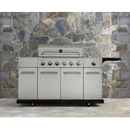 Kenmore 6 Burner Stainless Steel Front Gas Grill With Storage at Sears.com
