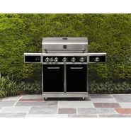 Kenmore 5-Burner Gas Grill with Ceramic Searing and Rotisserie Burners - Black at Kmart.com