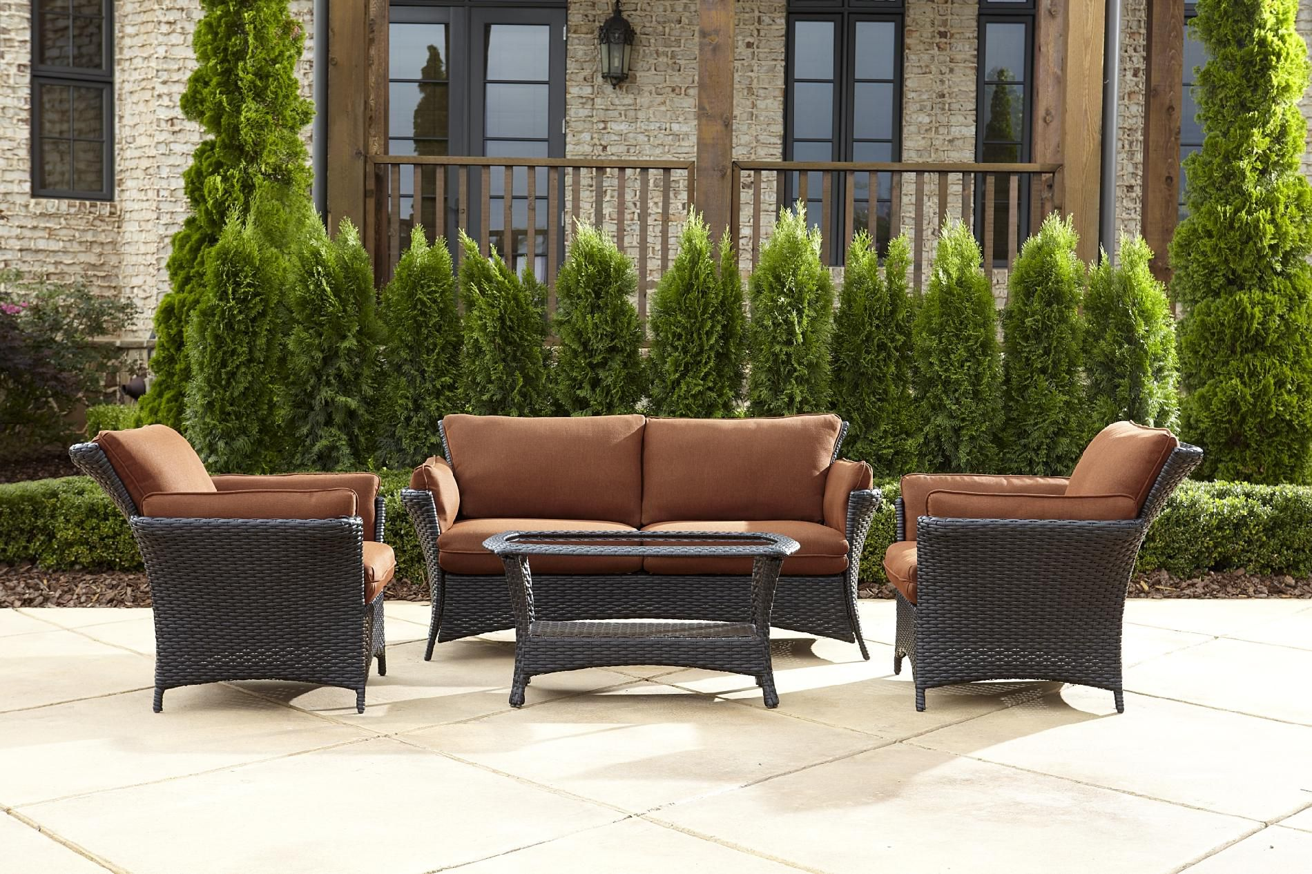 La-Z-Boy Outdoor  Everett 4pc Seating Set