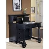 Home Styles St. Croix Expanding  Desk with Hutch at mygofer.com