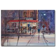 Trademark Fine Art Ryan Radke 'Night Cafe' Canvas Art at Kmart.com