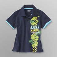 Toughskins Infant & Toddler Boy's Graphic Polo Shirt - Dinosaurs at Sears.com
