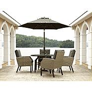 La-Z-Boy Outdoor Sadler 5pc Dining Set Bundle at Kmart.com
