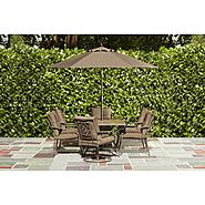 Garden Oasis Elmore 7pc Dining Set Bundle at Kmart.com