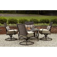 La-Z-Boy Outdoor McKenna 5pc Fire Pit Chat Set at Sears.com