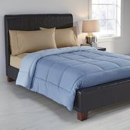 Colormate Ultra-Plush Comforter - Blue/Light blue at Kmart.com