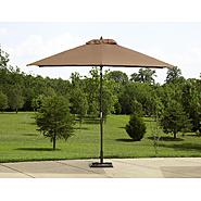 La-Z-Boy Outdoor Dylan 9ft Crank/Tilt Umbrella at Sears.com