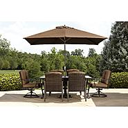 La-Z-Boy Outdoor Dylan 7pc Dining Set at Sears.com