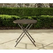 La-Z-Boy Outdoor Alex 28in Slat Folding Bistro Table at Sears.com